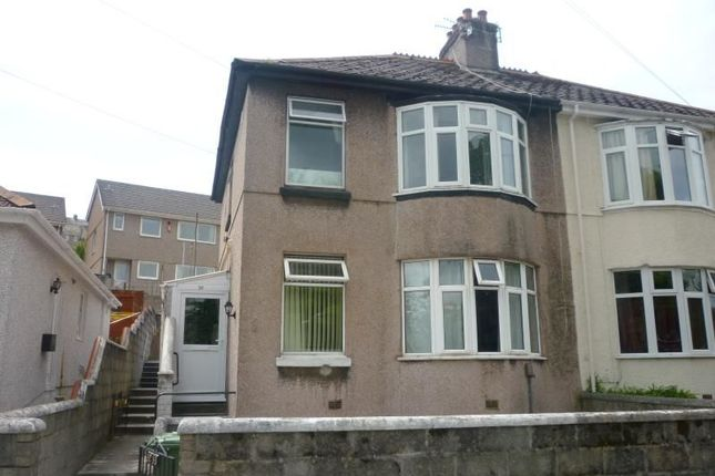 Thumbnail Flat to rent in Bernice Terrace, Lipson, Plymouth