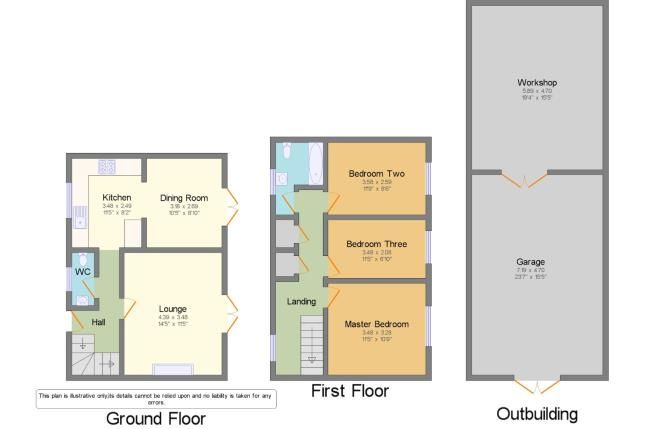 Floor Plan of Basildon, Essex, . SS14