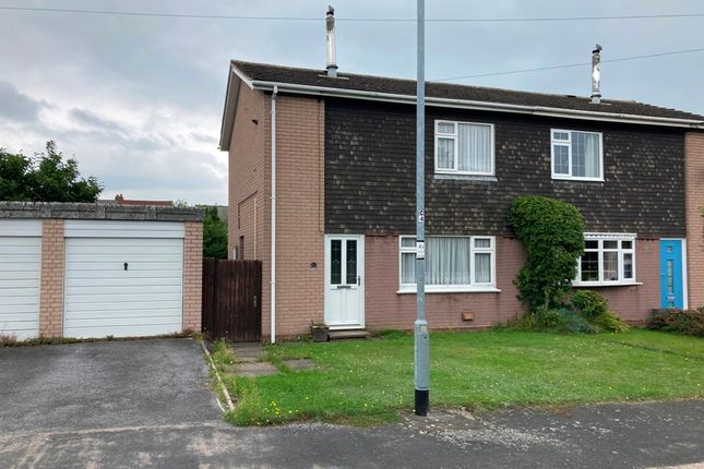 Thumbnail Semi-detached house to rent in Albion Place, Broom Hill, Cannock