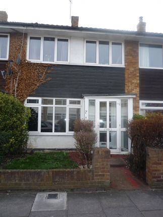 Thumbnail Terraced house to rent in Montague Road, London