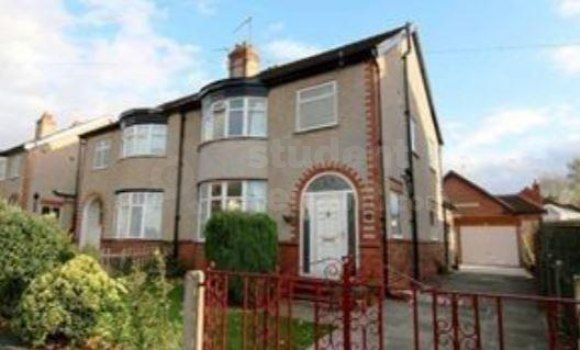 Thumbnail Shared accommodation to rent in Woodlands Avenue, Chester, Cheshire West And Chester