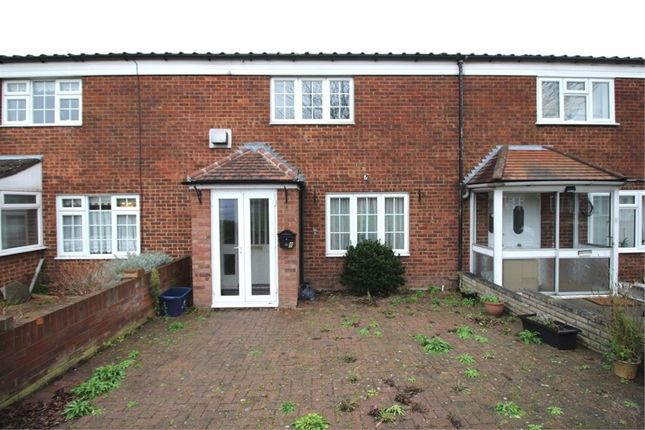 Thumbnail Terraced house for sale in Fairways, Waltham Abbey, Essex