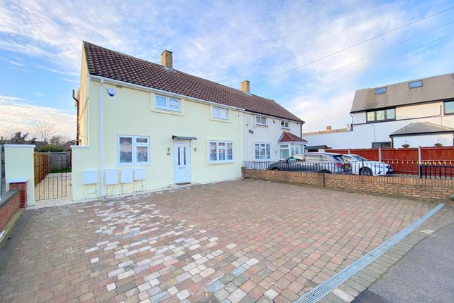 Thumbnail Maisonette for sale in Elsinore Avenue, Stanwell, Staines