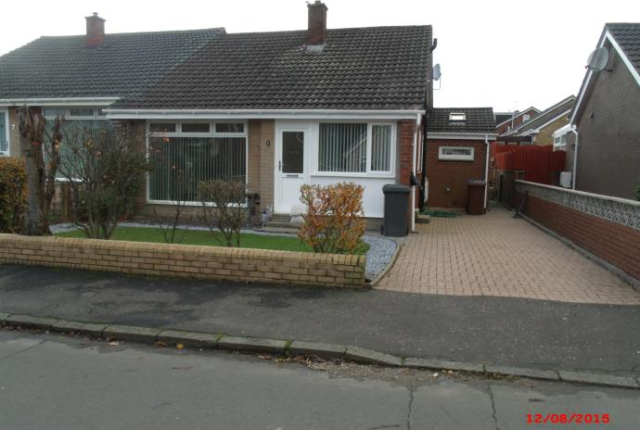 Thumbnail Semi-detached bungalow to rent in Cleddans Crescent, Hardgate