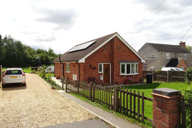 Thumbnail Detached bungalow for sale in Zion Hill, Coleorton, Leicestershire
