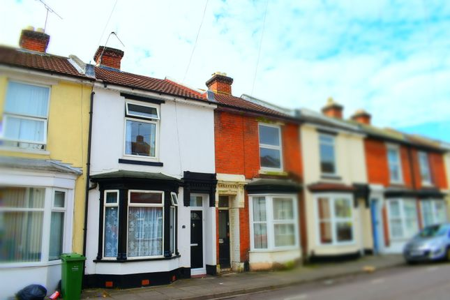 Thumbnail Terraced house to rent in Telephone Road, Southsea, Portsmouth, Hampshire