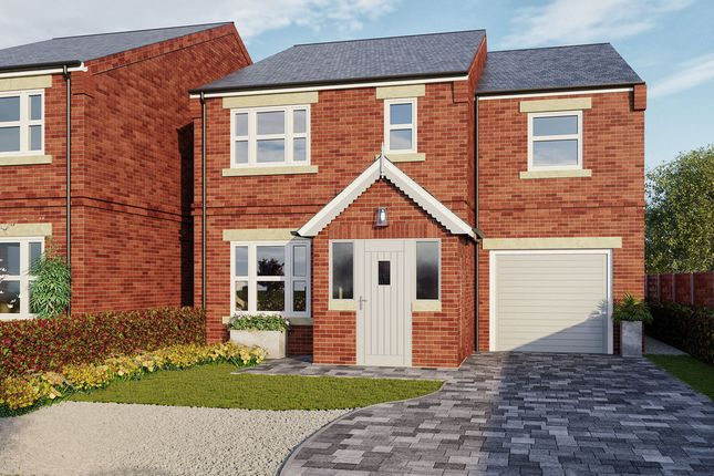 Thumbnail Detached house for sale in Byron Avenue, Sprotbrough Road, Doncaster