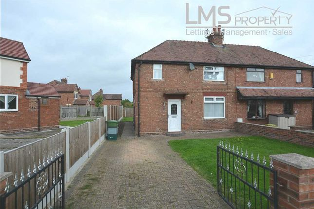 Thumbnail Semi-detached house to rent in Overway, Winsford