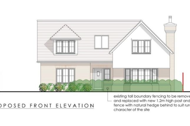 Land for sale in Runwell Road, Runwell, Wickford SS11