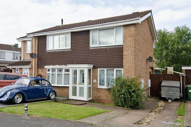 Thumbnail Semi-detached house for sale in Watson Close, Rugeley