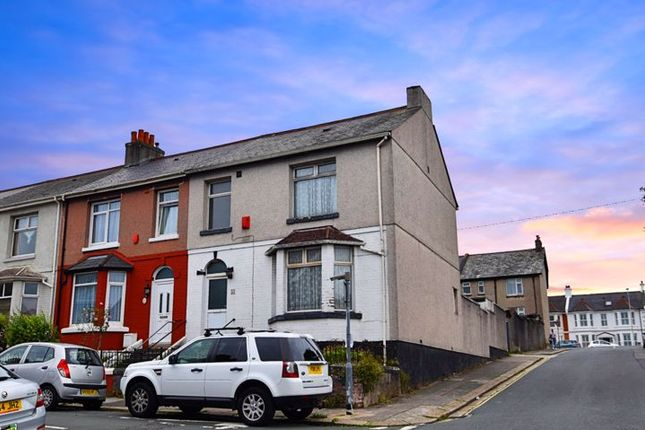 Thumbnail End terrace house for sale in Beaumont Street, Milehouse, Plymouth