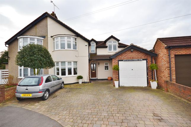 Thumbnail Semi-detached house for sale in Purley Close, Clayhall, Ilford