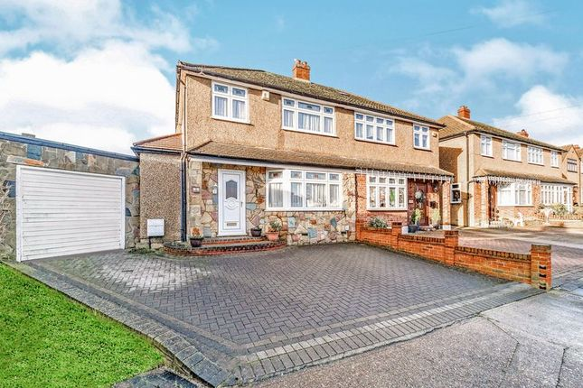 Thumbnail Semi-detached house for sale in Greenock Way, Romford