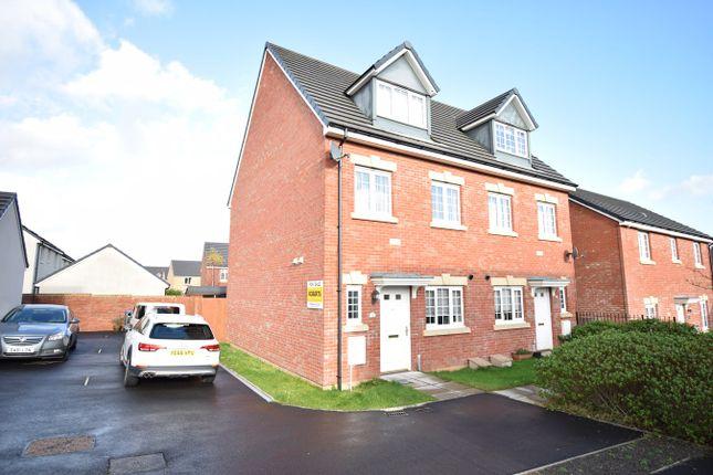 Thumbnail Semi-detached house for sale in Parc Panteg, Griffithstown, Pontypool