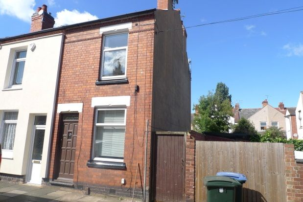 Thumbnail End terrace house to rent in Enfield Road, Stoke