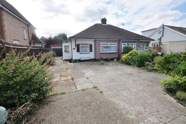 Thumbnail Semi-detached bungalow for sale in Bradley Close, Benfleet, Essex