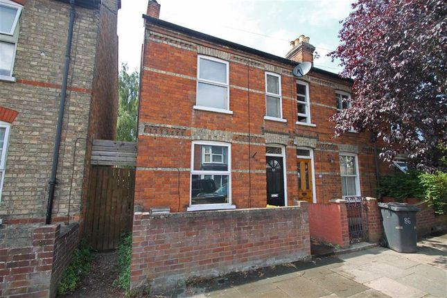 Thumbnail End terrace house for sale in Howbury Street, Bedford
