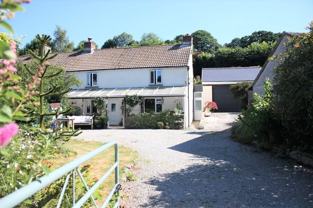 Thumbnail Cottage for sale in Bathpool, Launceston, Cornwall