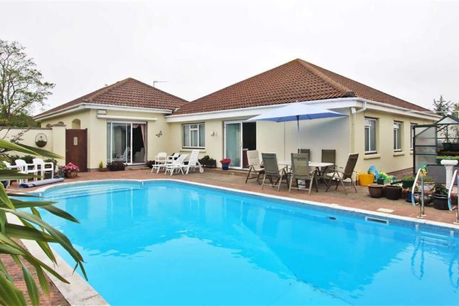Thumbnail Detached bungalow for sale in Elizabeth Avenue, La Route Orange, St. Brelade, Jersey