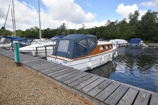 Thumbnail Land for sale in South Quays Marina, Horning