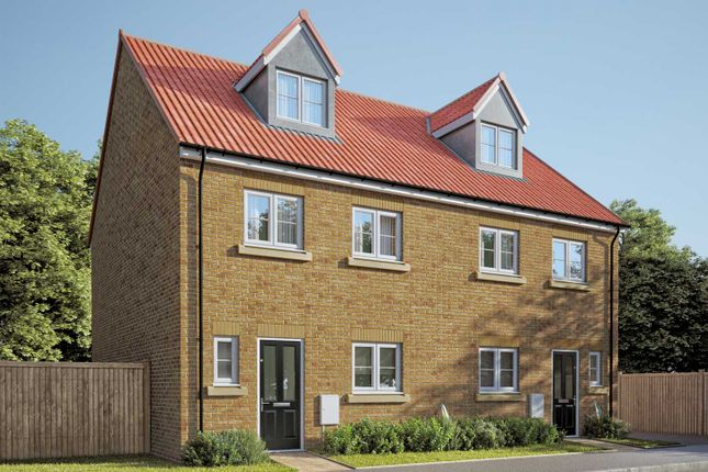 """Thumbnail Semi-detached house for sale in """"The Aslin"""" at Fenwick Road, Scartho Top, Grimsby"""