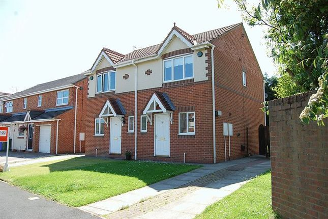 Thumbnail Semi-detached house to rent in Langton Drive, Cramlington