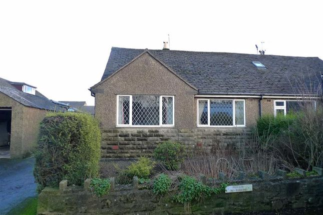 Thumbnail Semi-detached bungalow for sale in Hallsteads, Dove Holes, Derbyshire