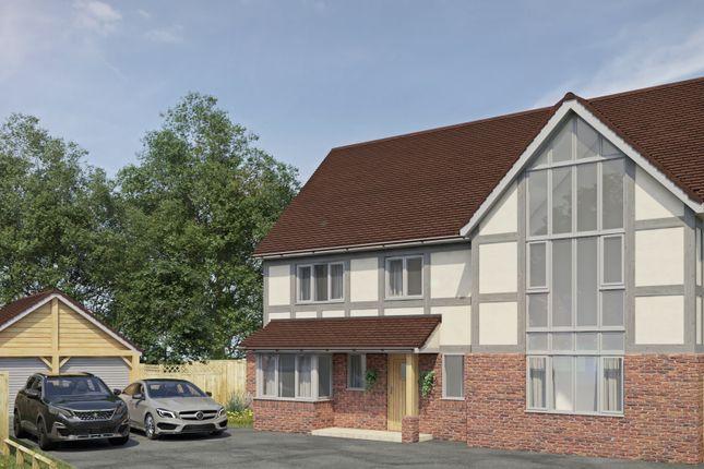Thumbnail Detached house for sale in Tudor Field, Dorrington, Shrewsbury