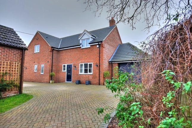 Thumbnail Detached house for sale in All Saints Close, Wymondham
