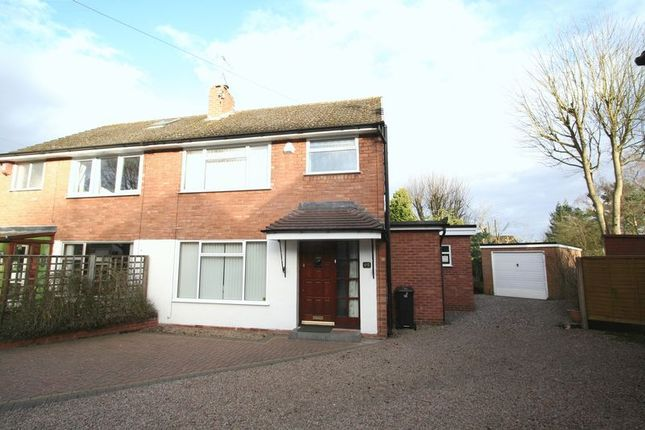 Thumbnail Semi-detached house for sale in Court Crescent, Kingswinford