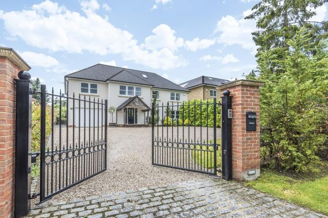 Thumbnail Detached house to rent in Knowle Grove, Virginia Water