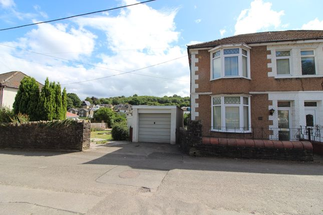 Thumbnail Semi-detached house for sale in Cwmtorlais Road, Newbridge, Newport