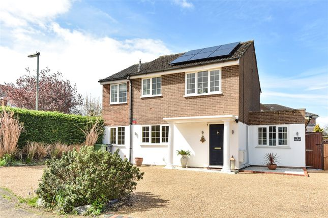 Thumbnail Detached house for sale in Kilmartin Gardens, Frimley, Camberley, Surrey