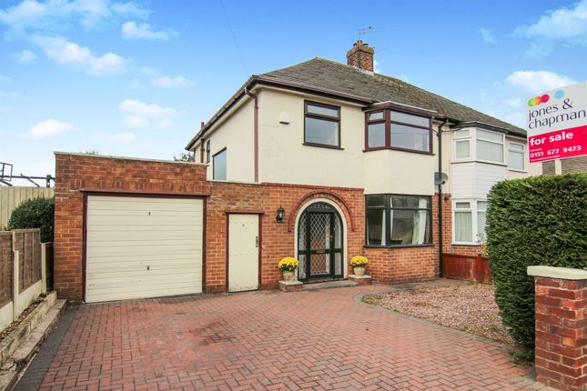 Thumbnail Semi-detached house for sale in Caulfield Drive, Greasby, Wirral