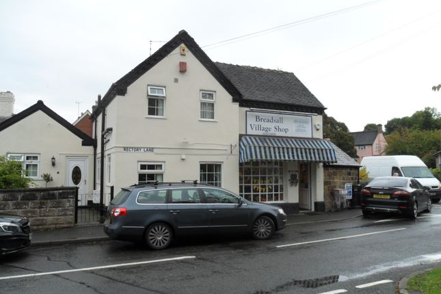 Retail premises for sale in Rectory Lane, Breadsall, Derby