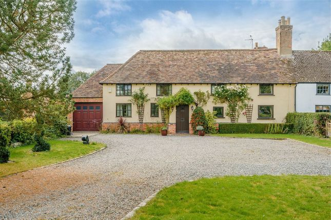 Thumbnail Cottage for sale in The Green, Conington, Peterborough