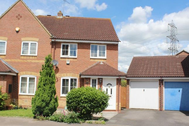 Thumbnail Semi-detached house to rent in Ladygrove, Didcot