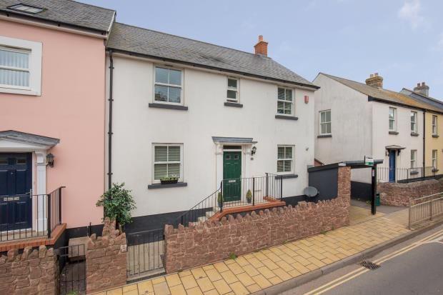 Thumbnail End terrace house for sale in Oystercatcher Court, Bridge Road, Shaldon, Devon