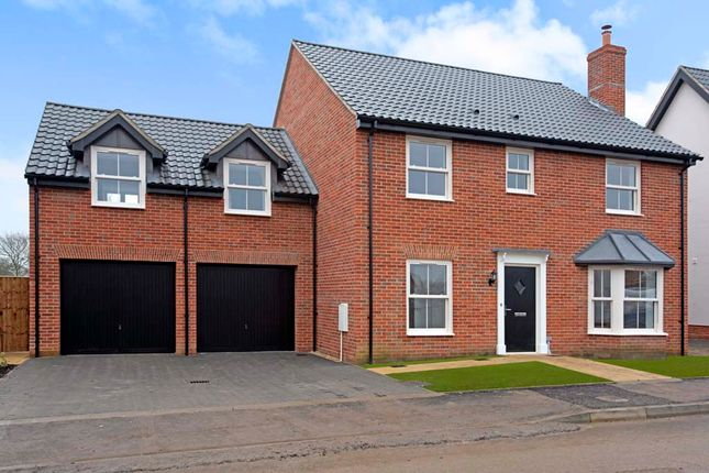 Thumbnail Detached house for sale in Poppy Way, Gislingham