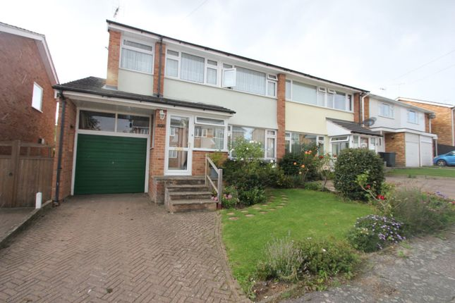 Thumbnail Semi-detached house for sale in Elizabeth Close, Hockley