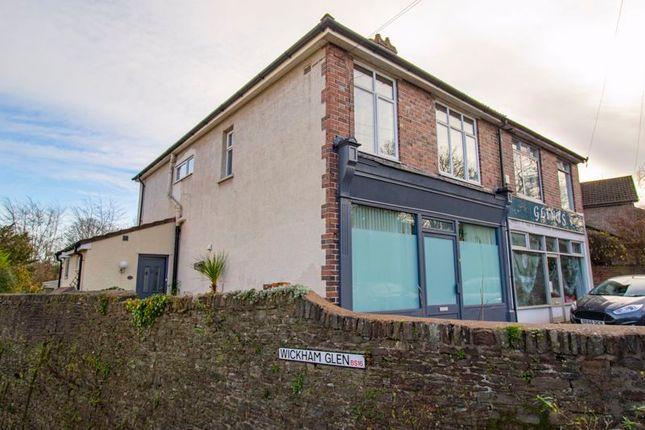 Thumbnail Semi-detached house for sale in Park Road, Stapleton, Bristol