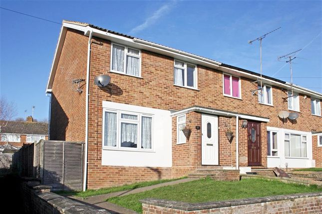 Thumbnail End terrace house for sale in Foxglove Green, Willesborough, Ashford, Kent
