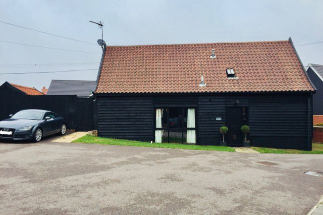 Thumbnail Barn conversion for sale in Creeting Road, Stowupland, Stowmarket