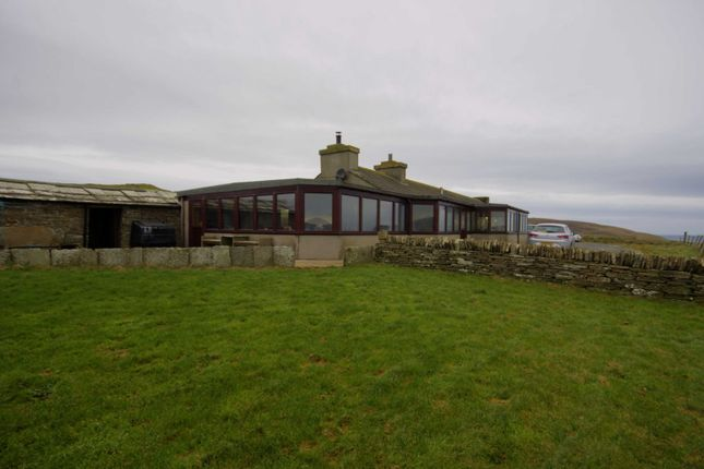 4 bed detached bungalow for sale in Old School, Costa, Orkney KW17