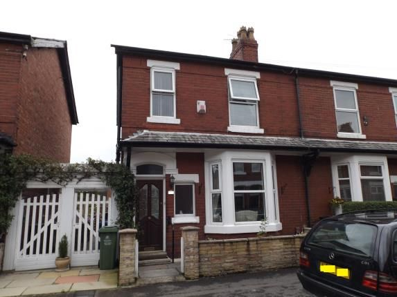 Thumbnail End terrace house for sale in Haddon Grove, Timperley, Altrincham, Greater Manchester