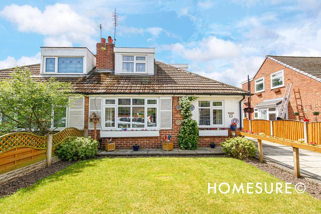 Thumbnail Semi-detached bungalow for sale in Killester Road, Gateacre, Liverpool