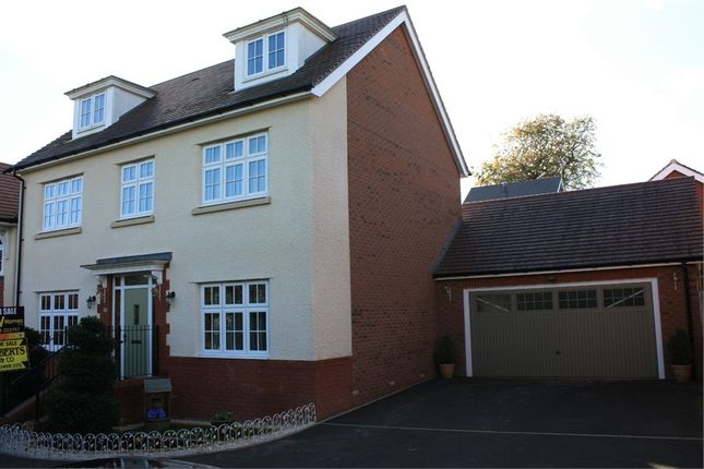 Thumbnail Detached house for sale in Blacksmith Close, Oakdale, Caerphilly