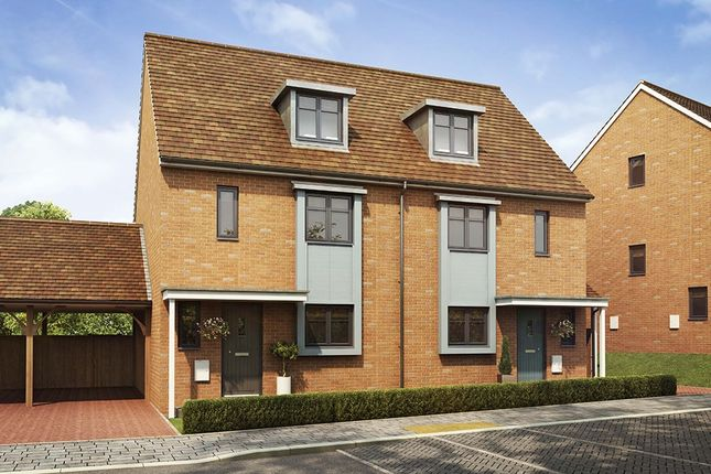 """Thumbnail Semi-detached house for sale in """"The Leicester"""" at Southfleet Road, Swanscombe"""