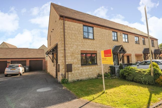Thumbnail Semi-detached house to rent in Snowshill Drive, Witney
