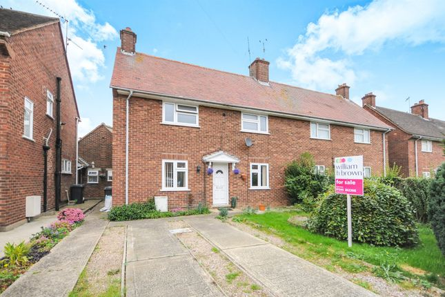 Thumbnail Semi-detached house for sale in Hunts Drive, Writtle, Chelmsford
